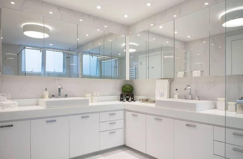 Projetos de Banheiros desenvolvidos com mármores e granitos vendidos pela GraniHouse