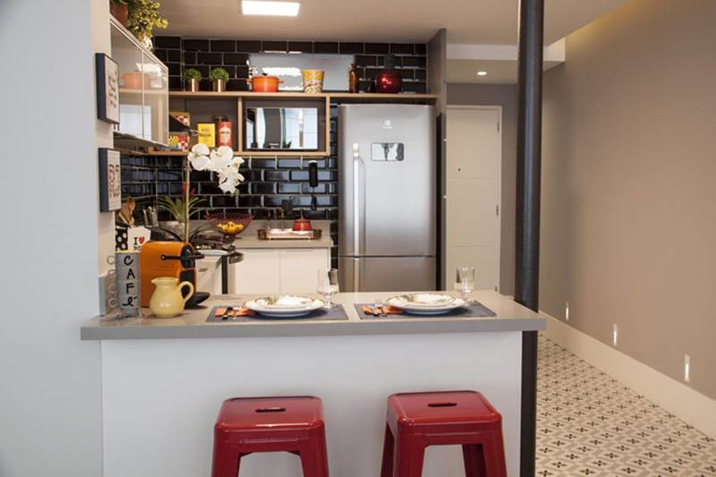 Projetos de Cozinhas desenvolvidos com mármores e granitos vendidos pela GraniHouse