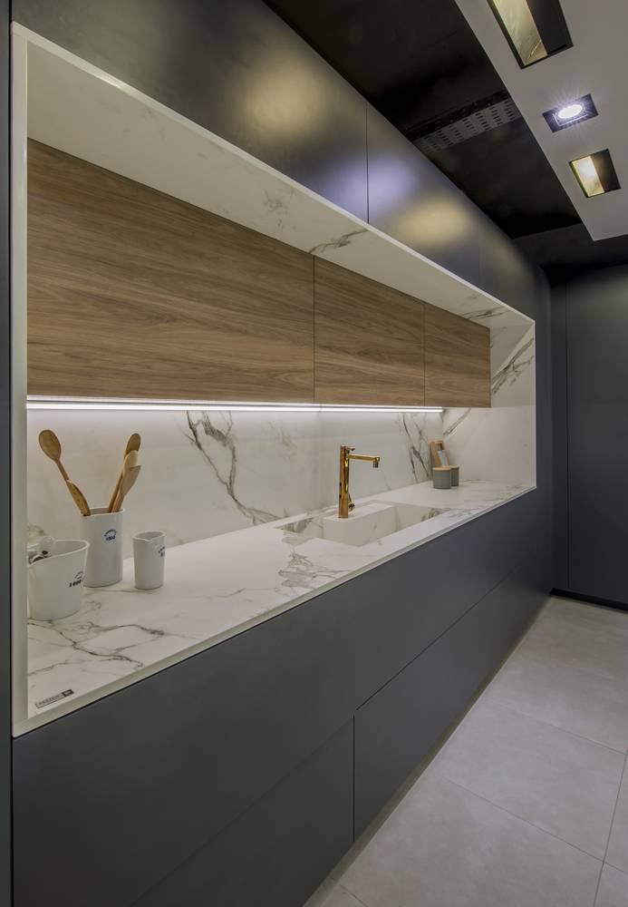 Projetos desenvolvidos com mármores e granitos vendidos pela GraniHouse